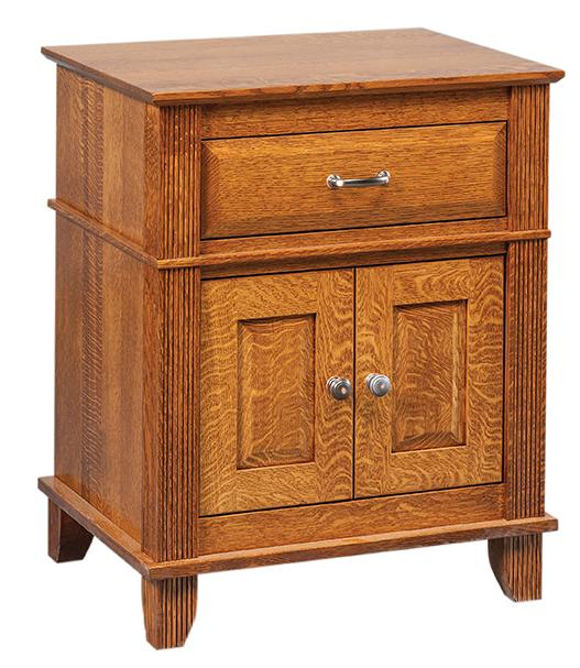 Arlington Nightstand - 1 drawer and 2 doors