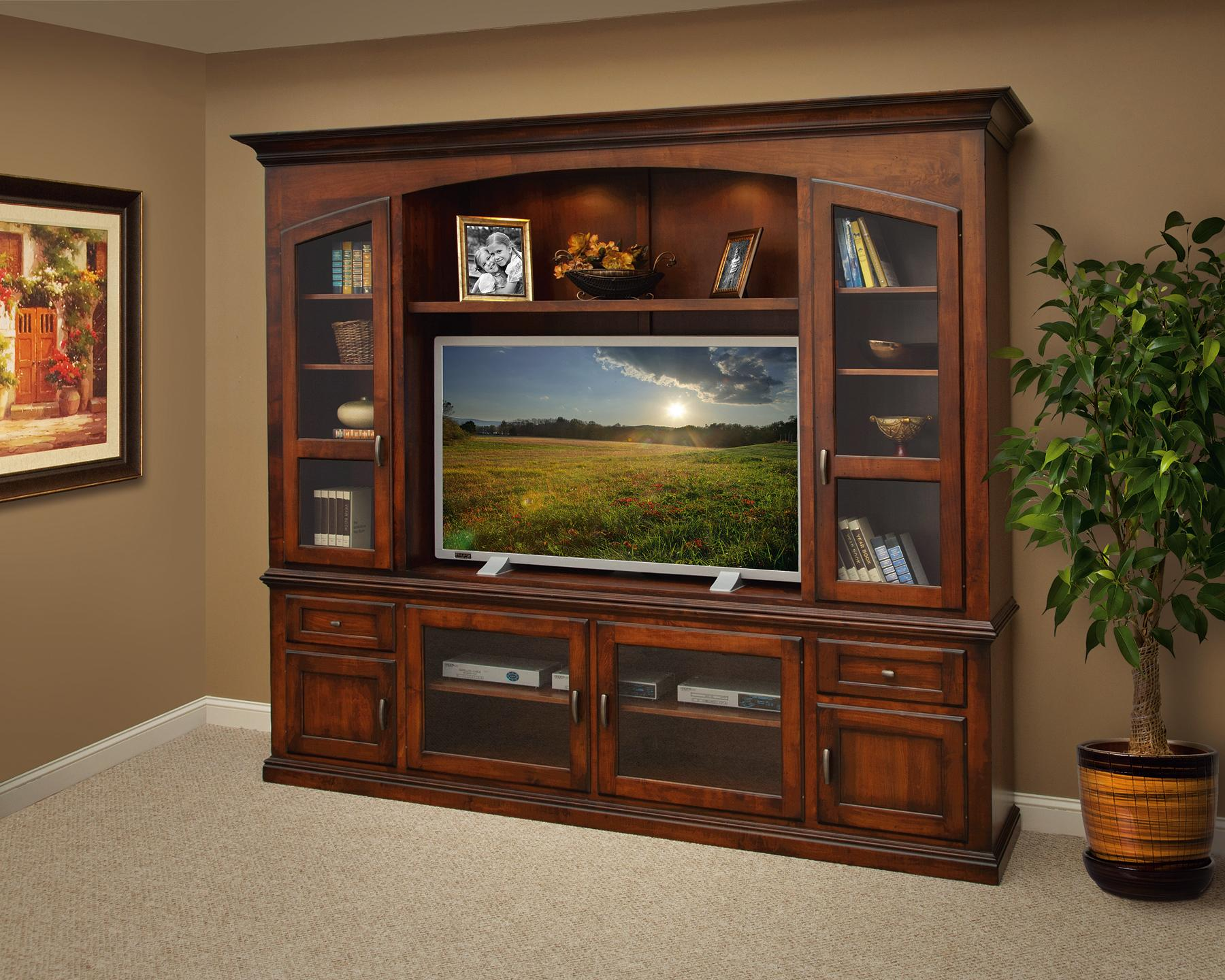 Bailey feature entertainment center