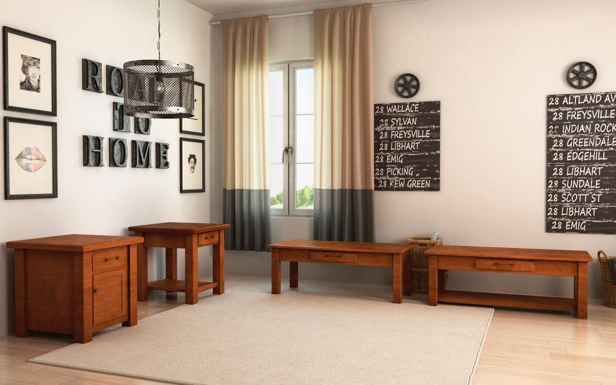 Barn Floor Office Collection Display