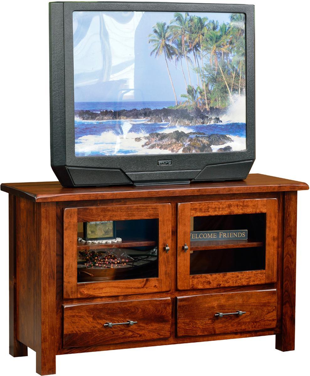 Barn Floor Top TV Stand - narrow