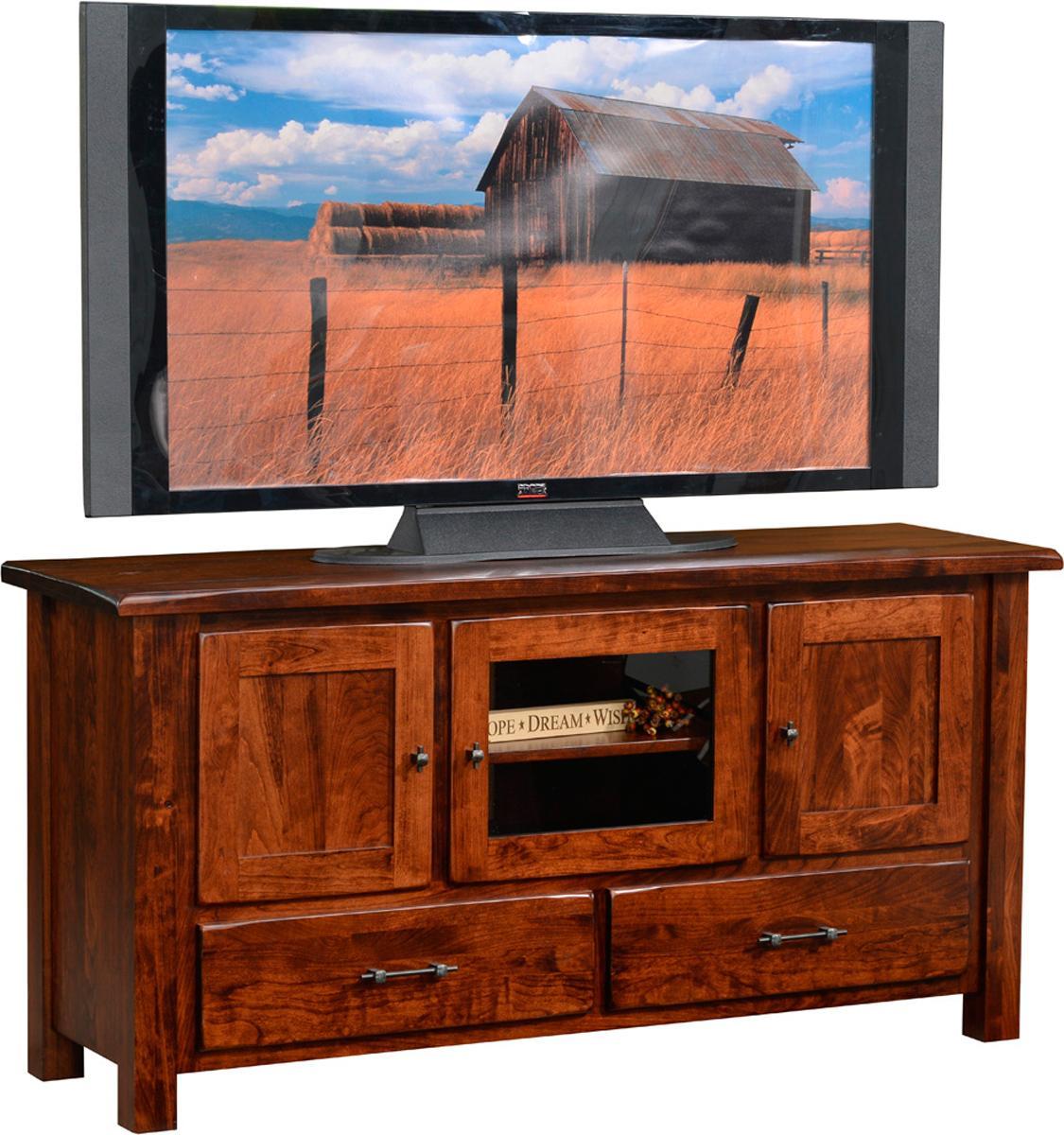 Barn Floor Top TV Stand
