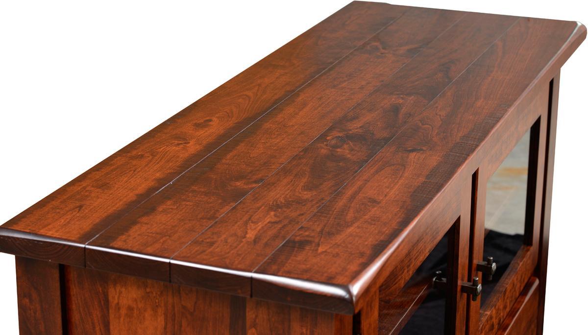 Barn Floor Office Collection Top - rustic cherry