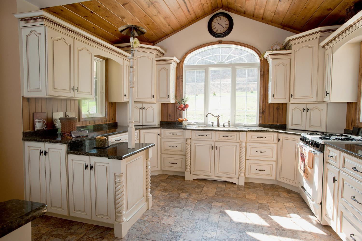 Beautiful custom built home kitchen