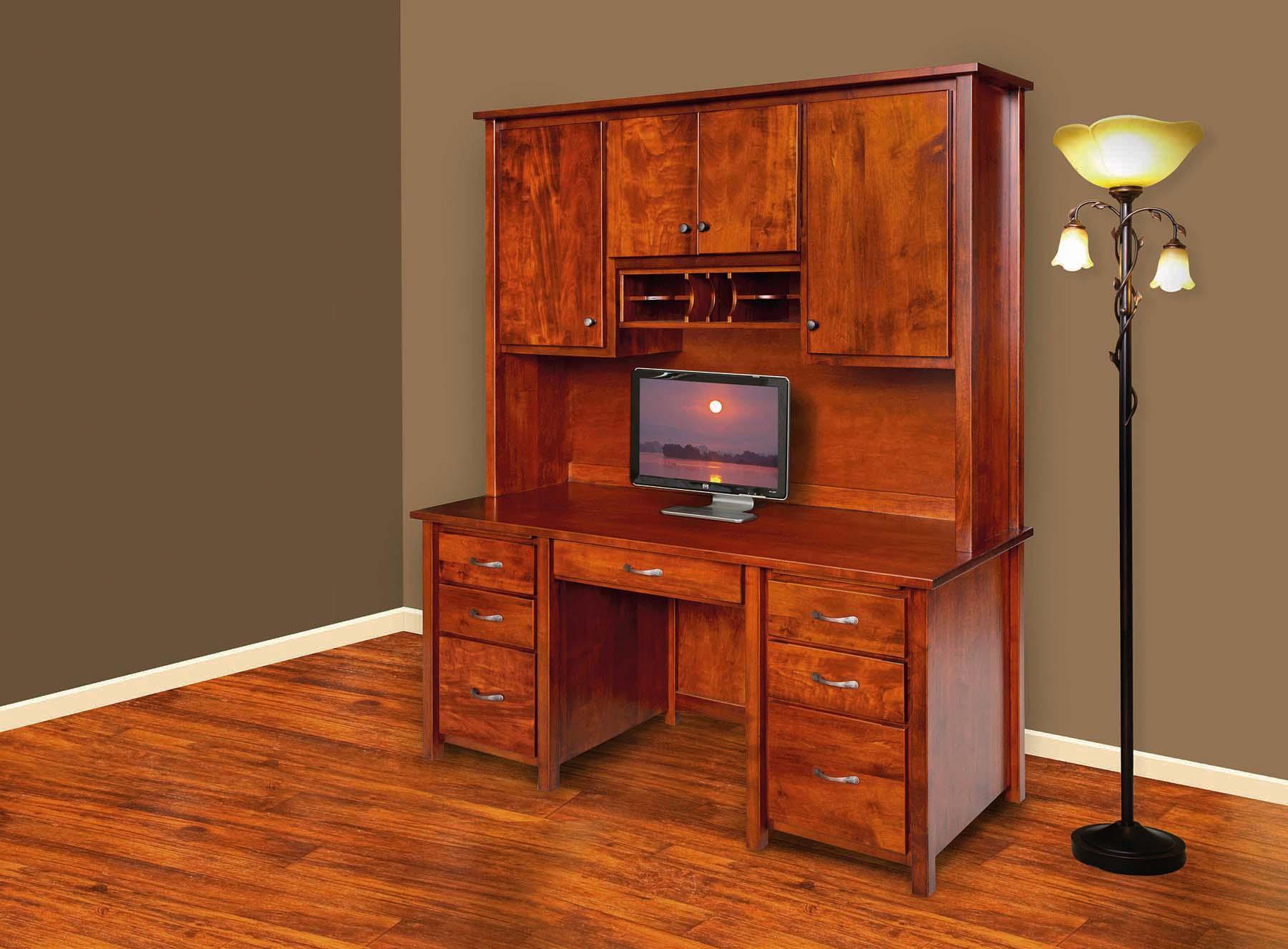 Eshton Double Pedestal Computer Desk