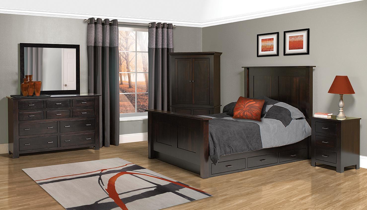 Horizon Shaker Bedroom Suite