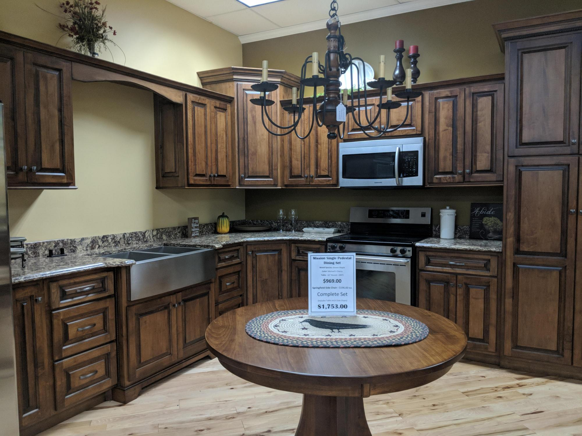 Quality built custom kitchen