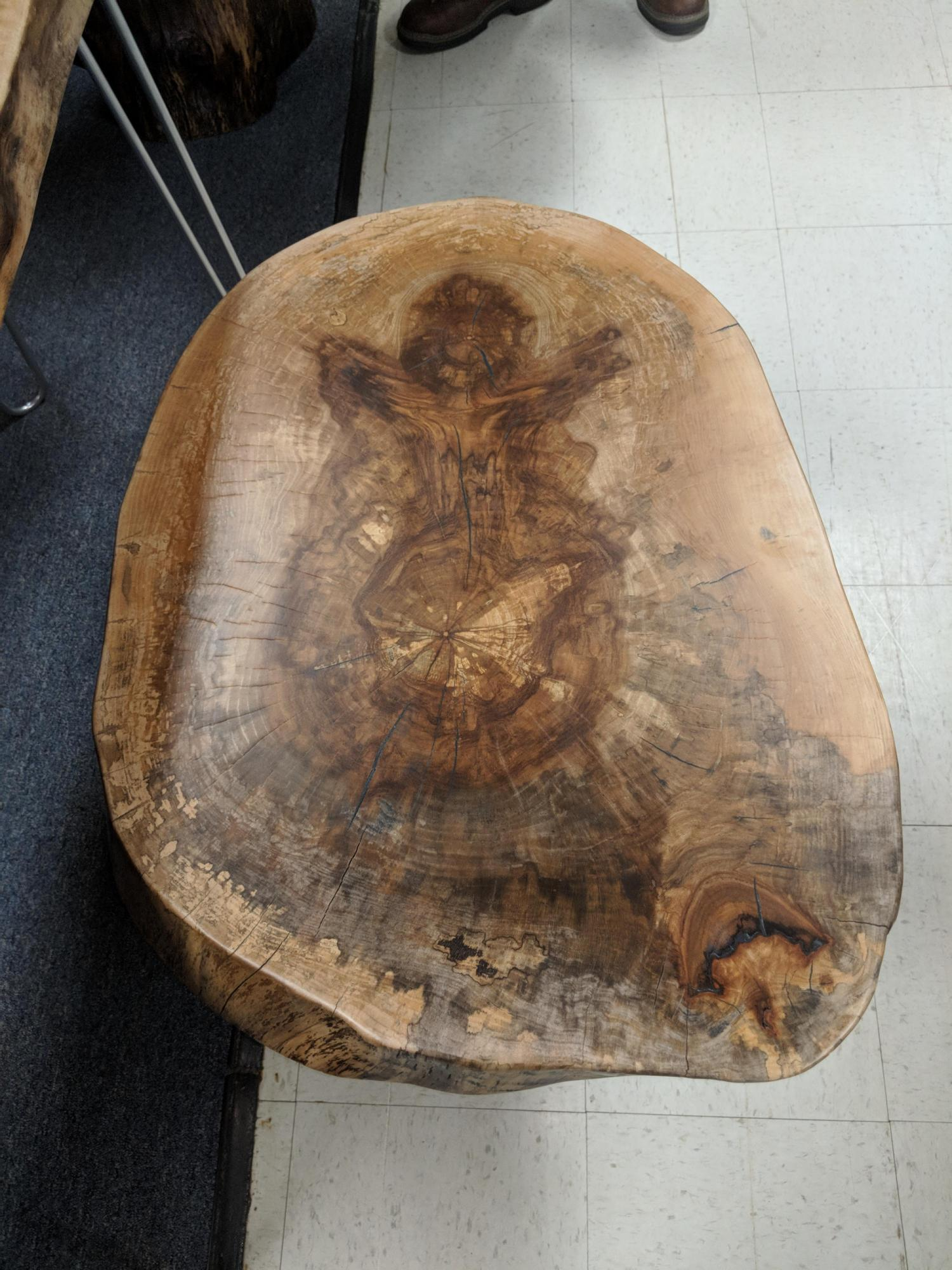 "Live Edge ""Angel"" Occasional Table"