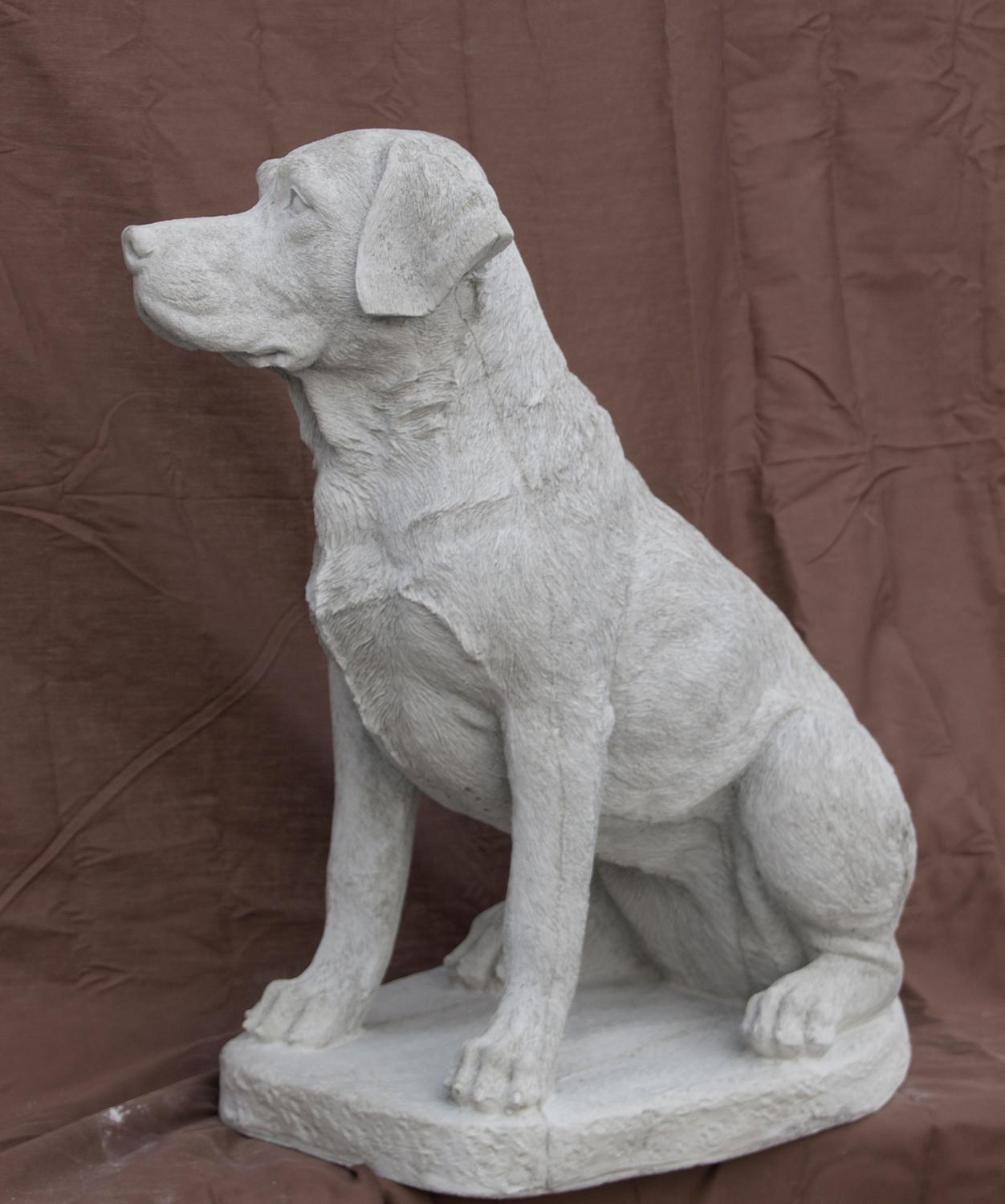 "Lab Sitting - large, 22 1/2"" high"