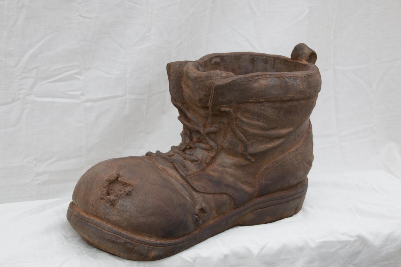 """Boot Planter - 19"""" long, 11"""" high"""