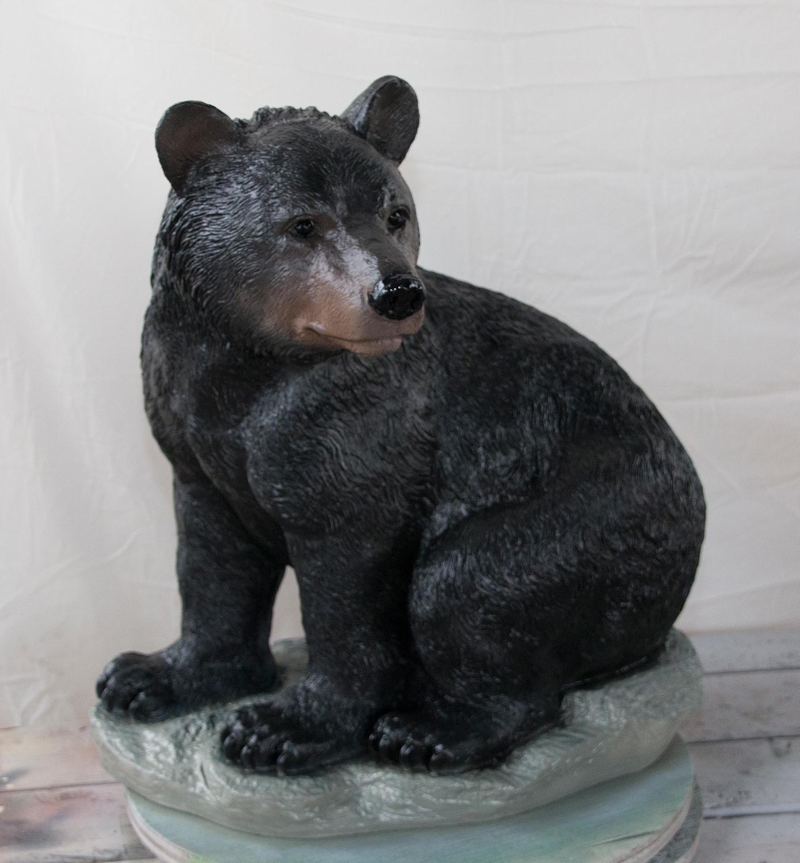 """Large Bear Sitting - 34"""""""