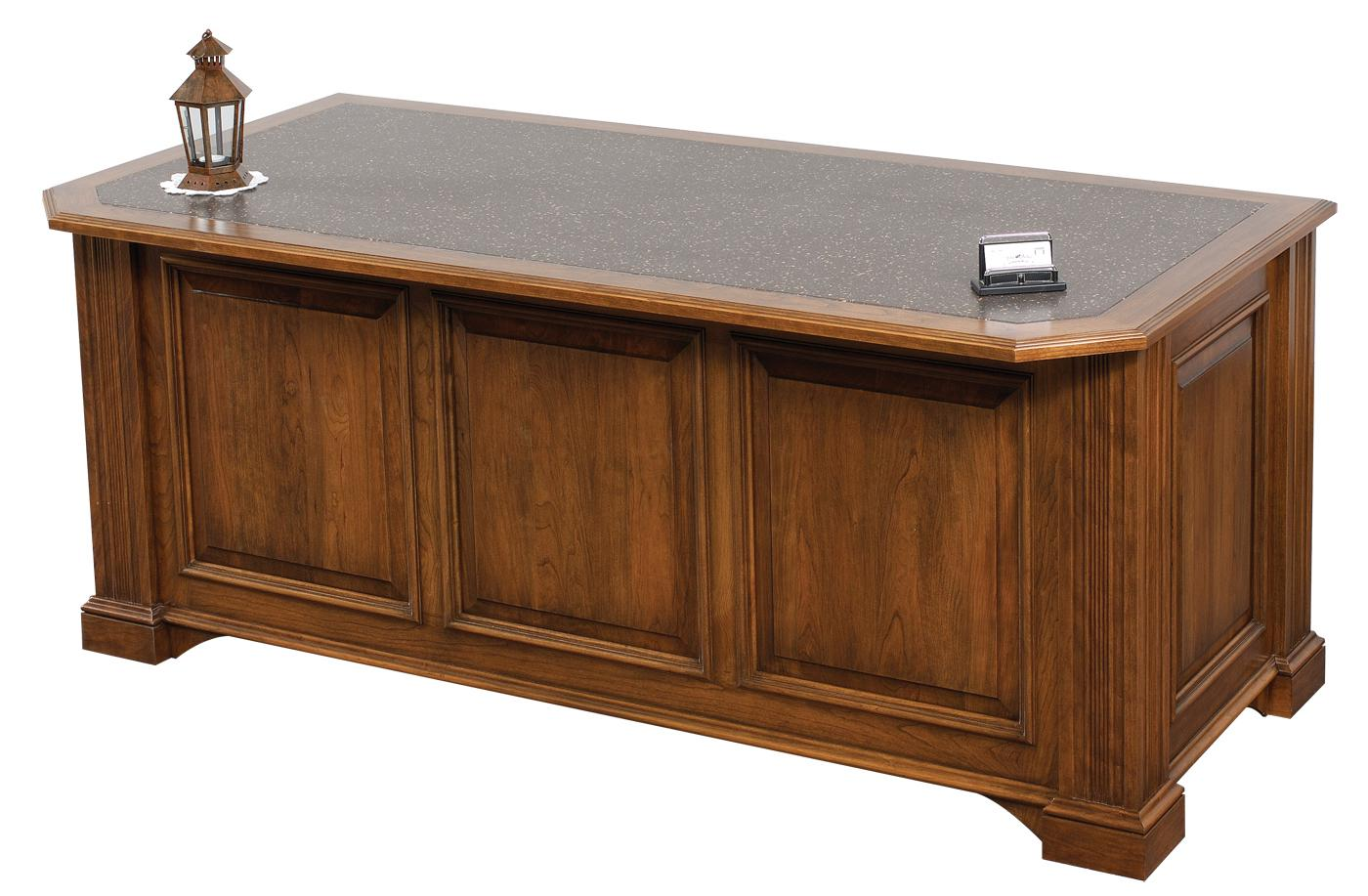Lincoln Office Desk (front view)