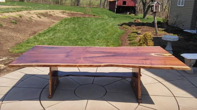 Sold - Large Walnut Table