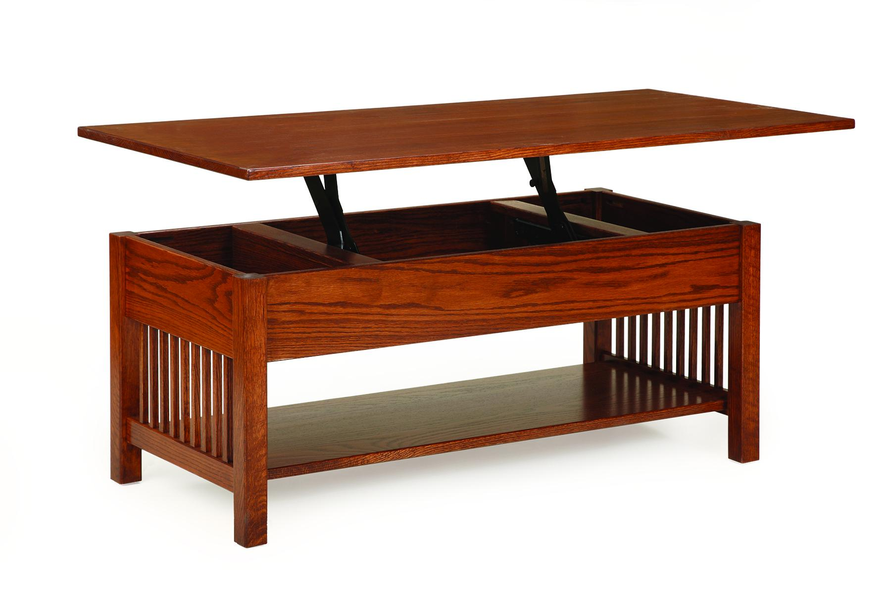 Mission Coffee Table with Lift Top