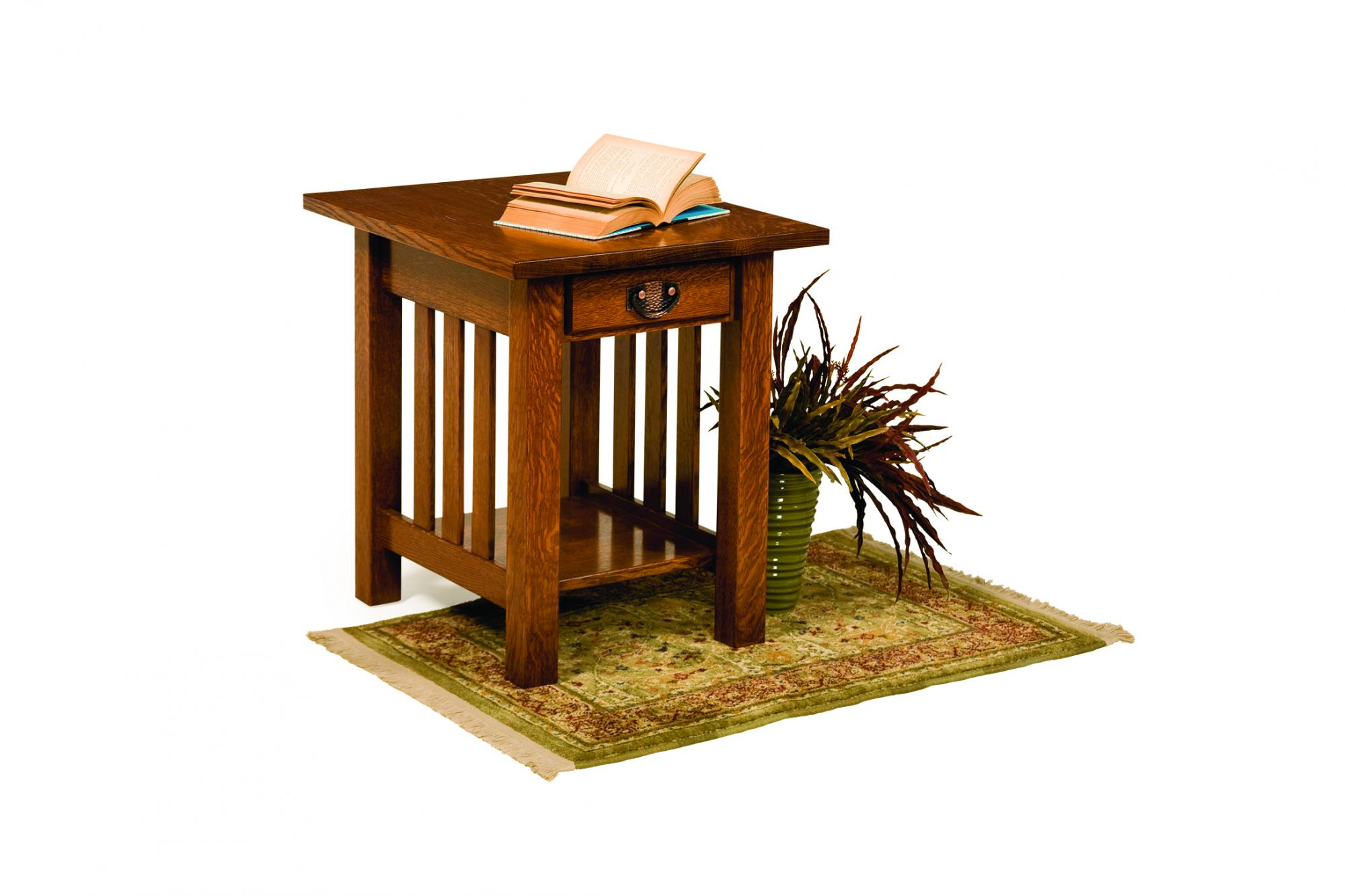 Classic Mission Square End Table