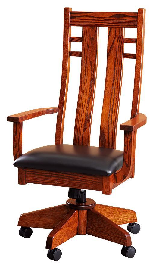 Cascade Upholstered Desk Chair