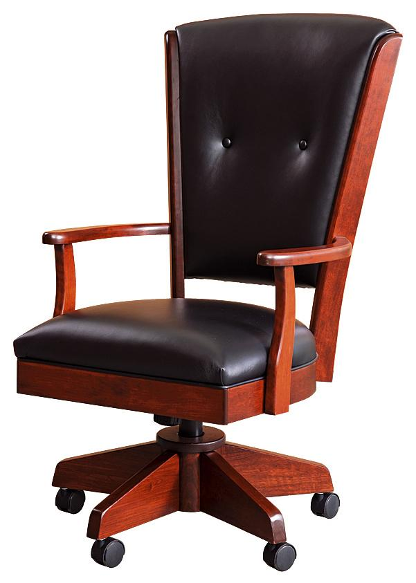 Berkshire Leather Desk Chair