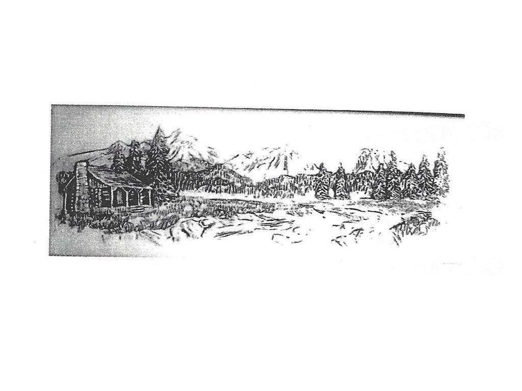 """Mountain Cabin Bench - 40"""" long"""