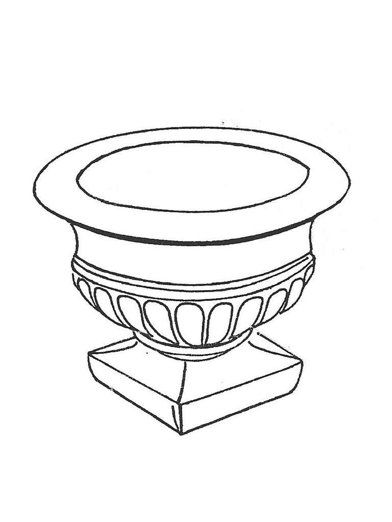 """Empire Sr. Pot - 26"""" diameter, 22"""