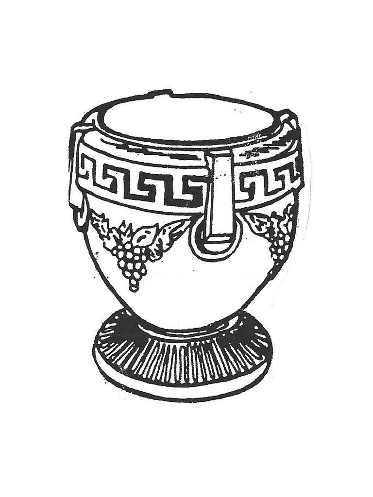 Grecian Large Pot