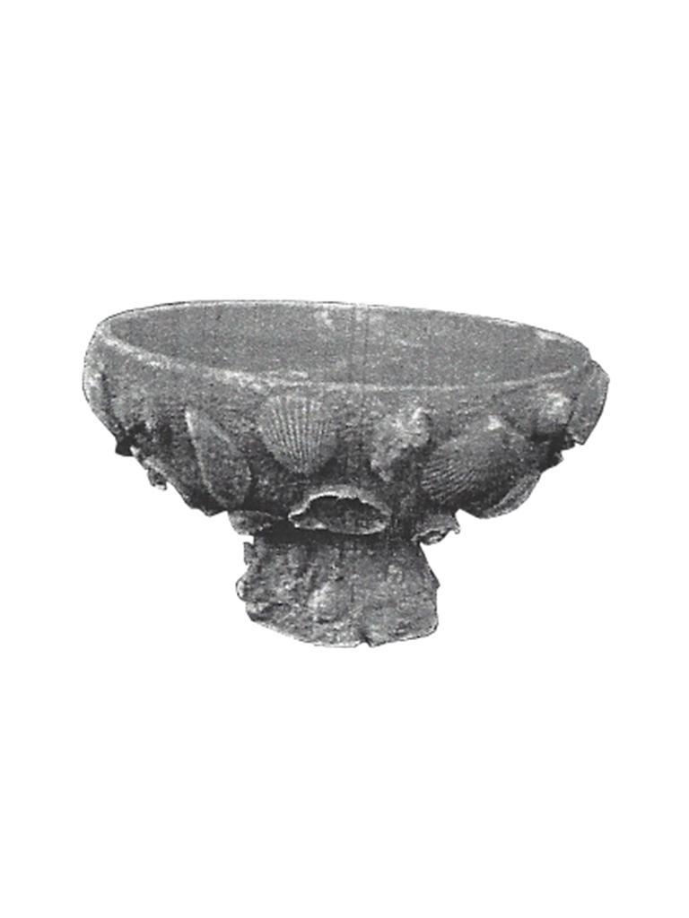 "Seashell Planter - 10"" diameter, 6"" high"