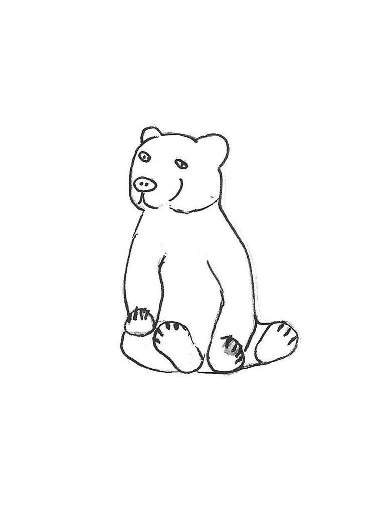 "Small Bear - 11"""