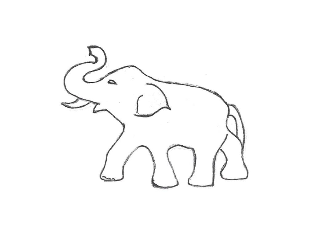 "Elephant - 29"" long, 22"" high"