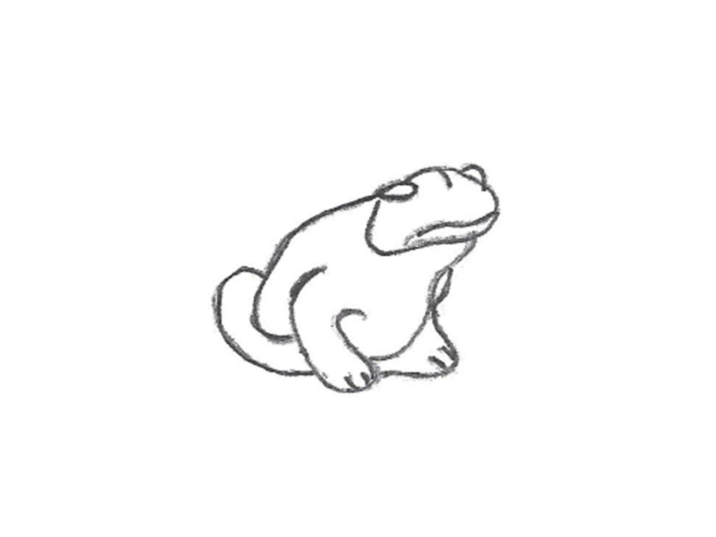 """Frog - small, 3"""""""