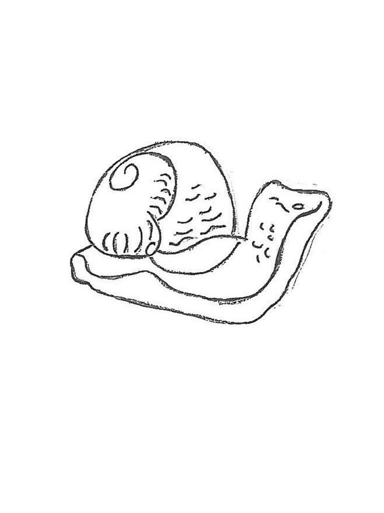 "Snail - mini, 4"""