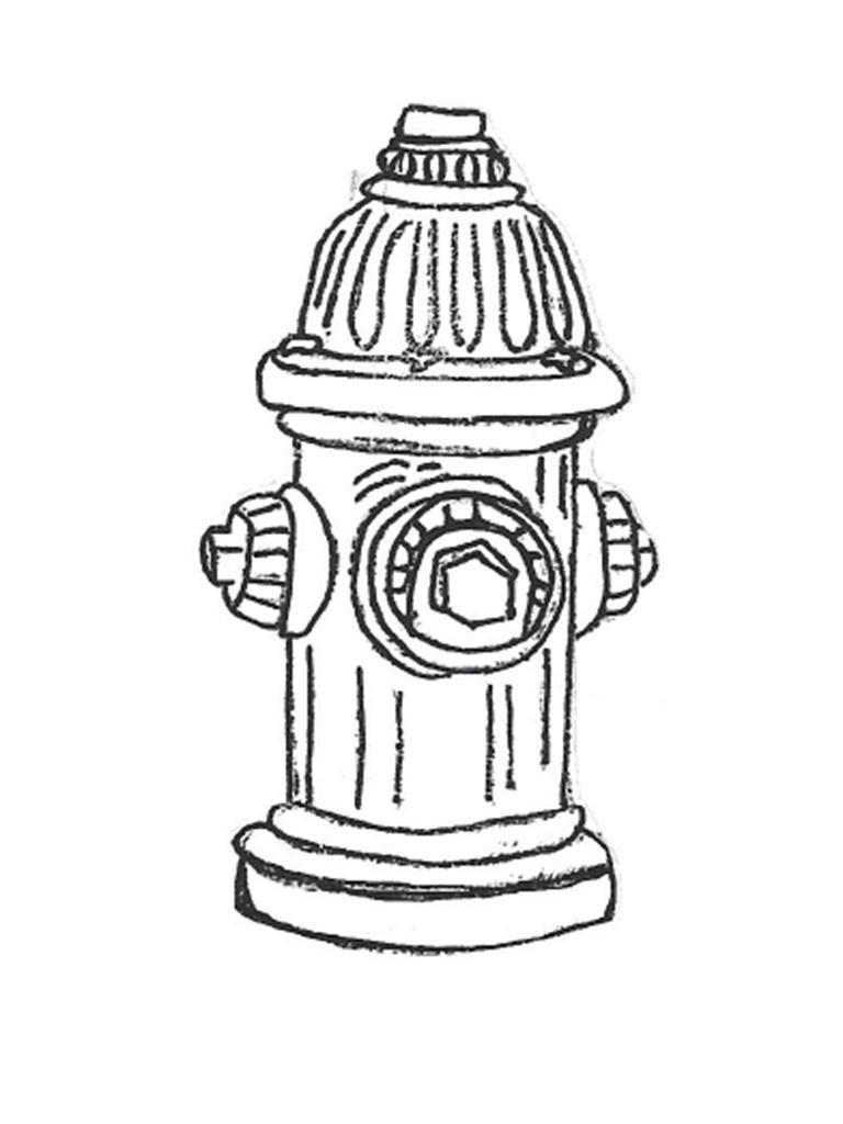 "Fire Hydrant - 8"" diameter, 16"" high"