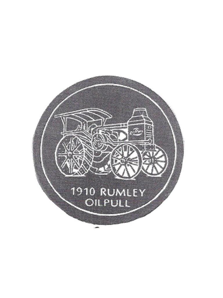 Tractor Stone - Rumley Oilpull