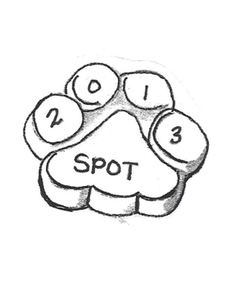 Spot Paw Print