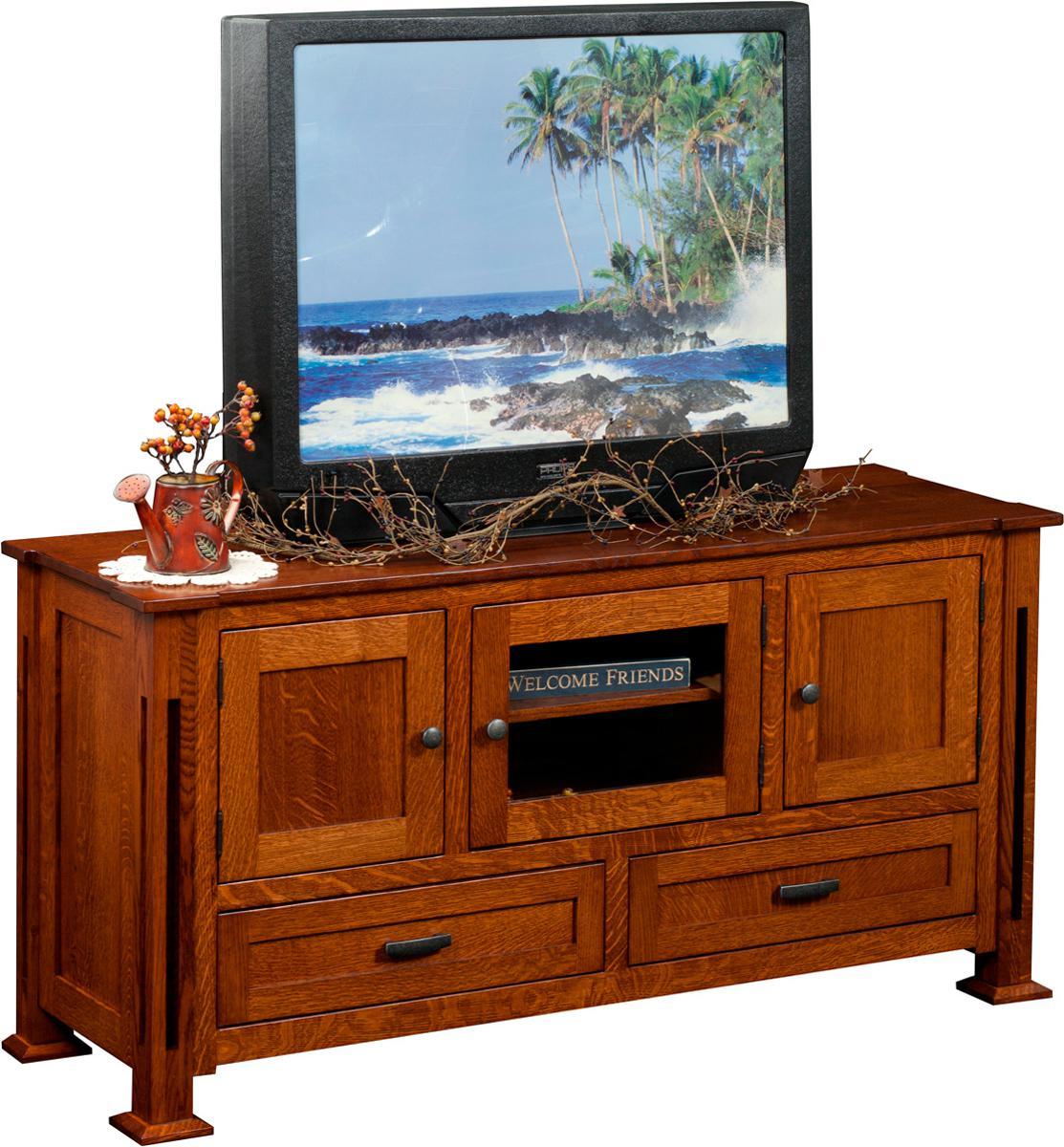 Parker Mission TV Stand - wide