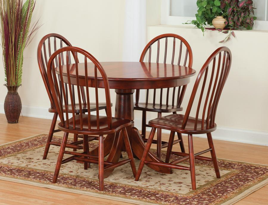 Pedestal Dining Table Set