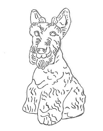 Scottie Dog - 12""