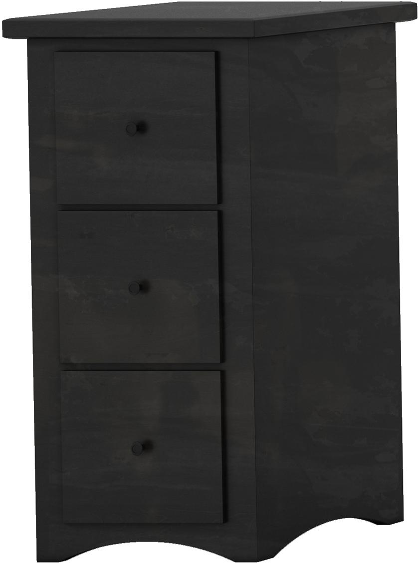 Shaker Letter File Cabinet - 3 drawer