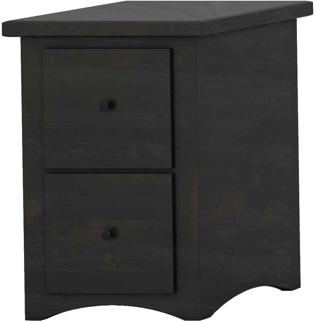 Shaker Letter File Cabinet - 2 drawer