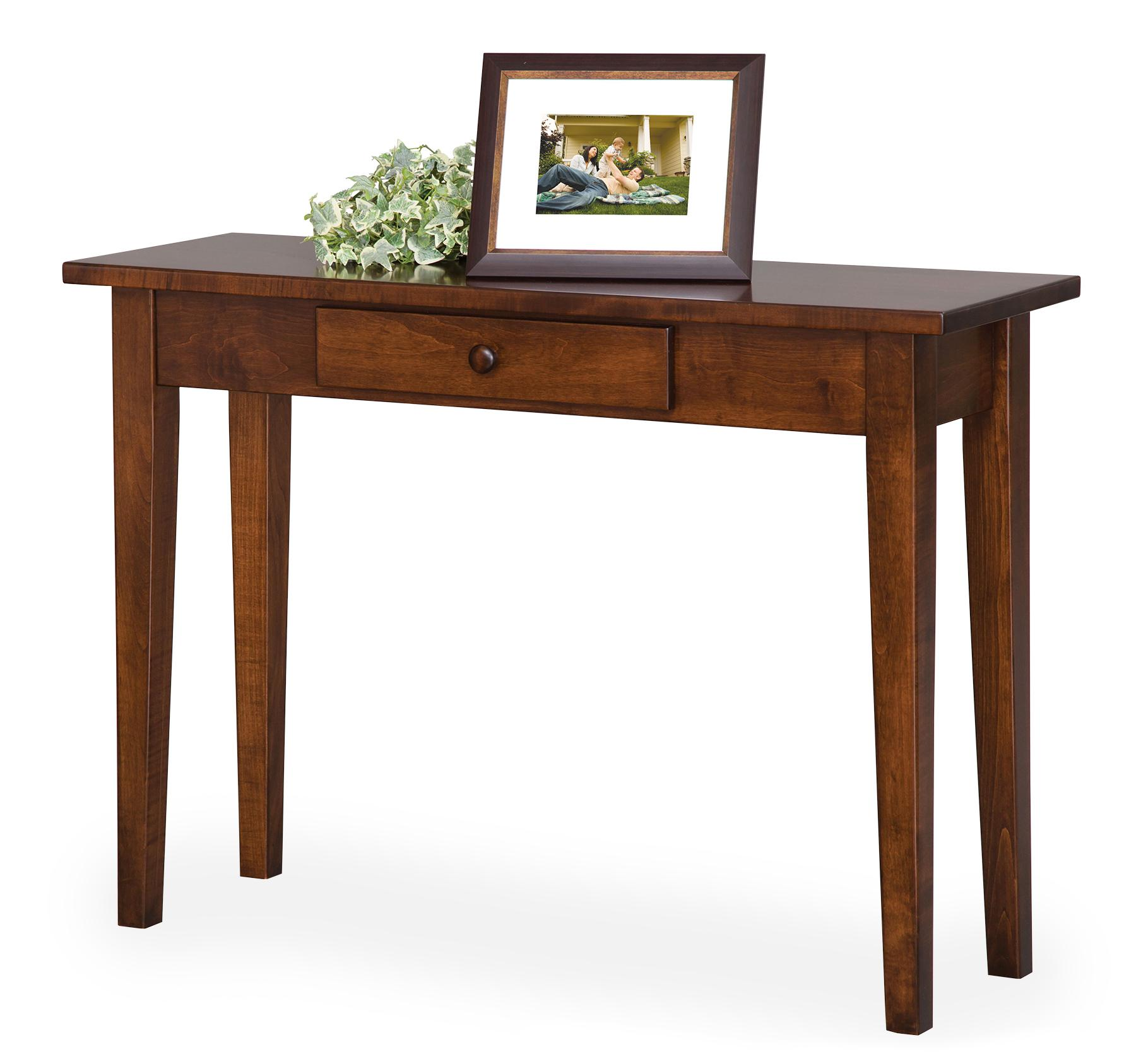 Shaker Petite Sofa Table with Drawer