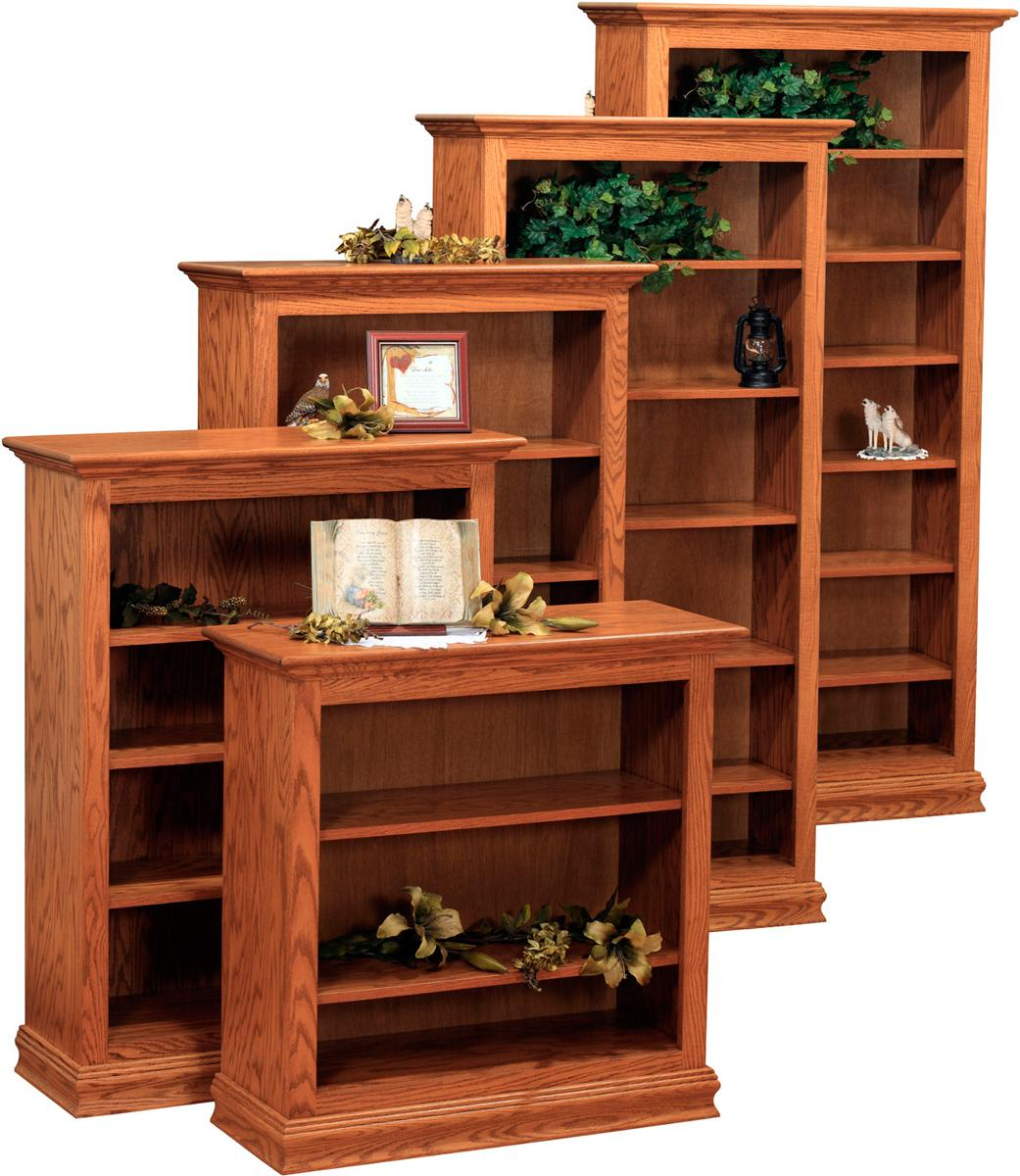 Traditional Bookcases - ply sides