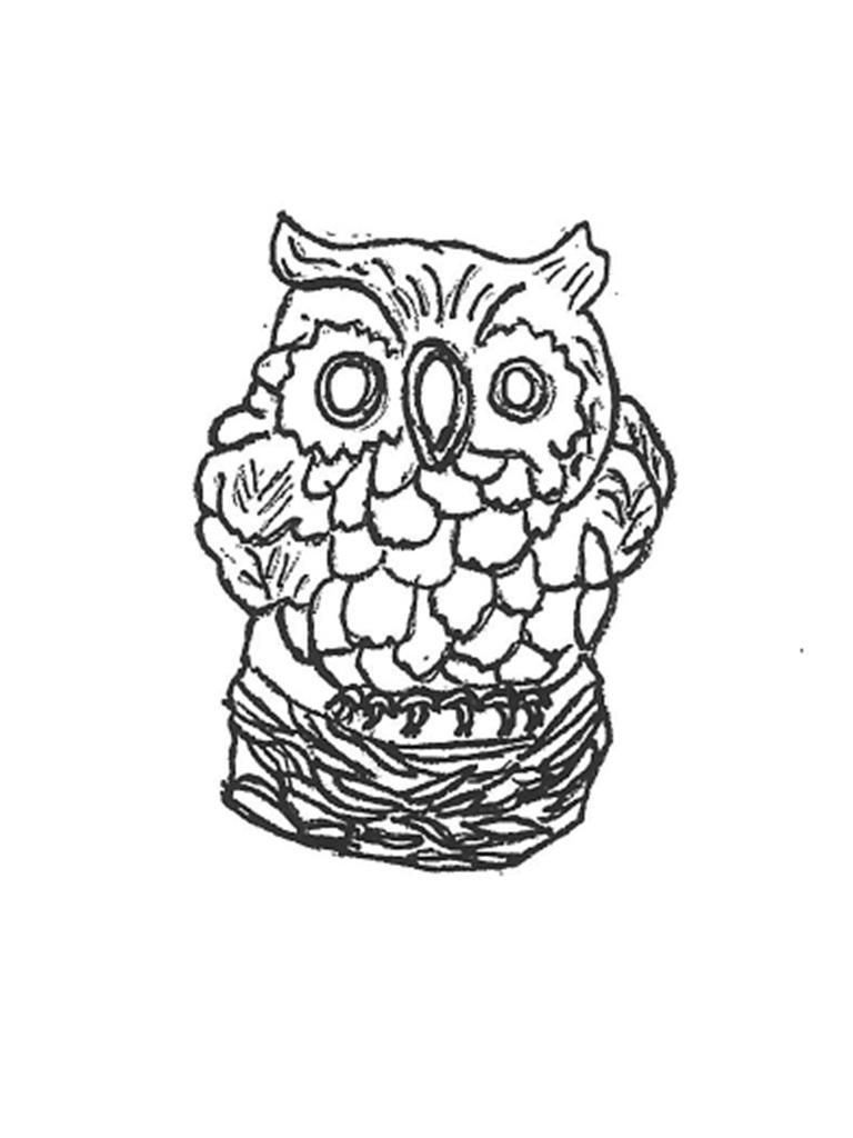 "Fat Owl - 8"""